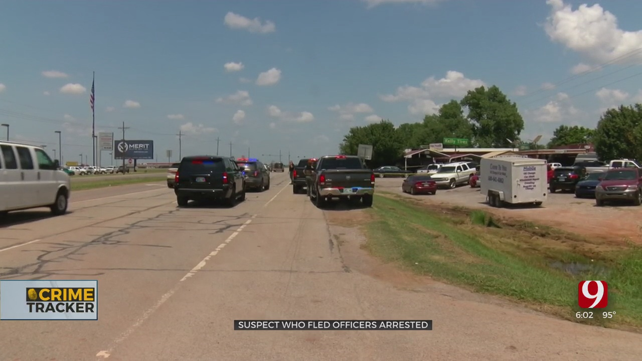 OSBI Releases New Information In Officer-Involved Shooting In Stephens County