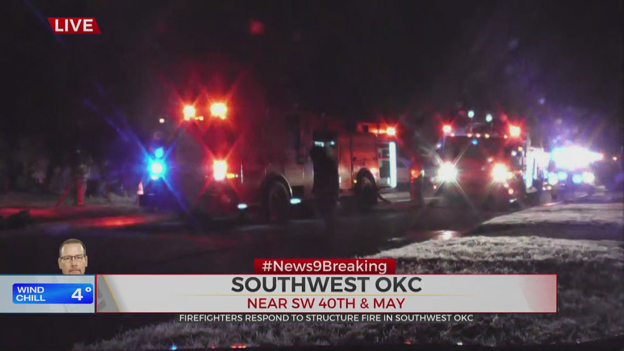 SW OKC Home Destroyed In Early Morning House Fire