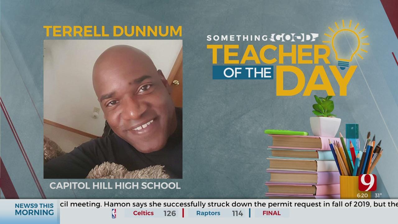 Teacher Of The Day: Terrell Dunnum