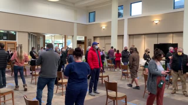Large Lines Form In Oklahoma Precincts For Election Day