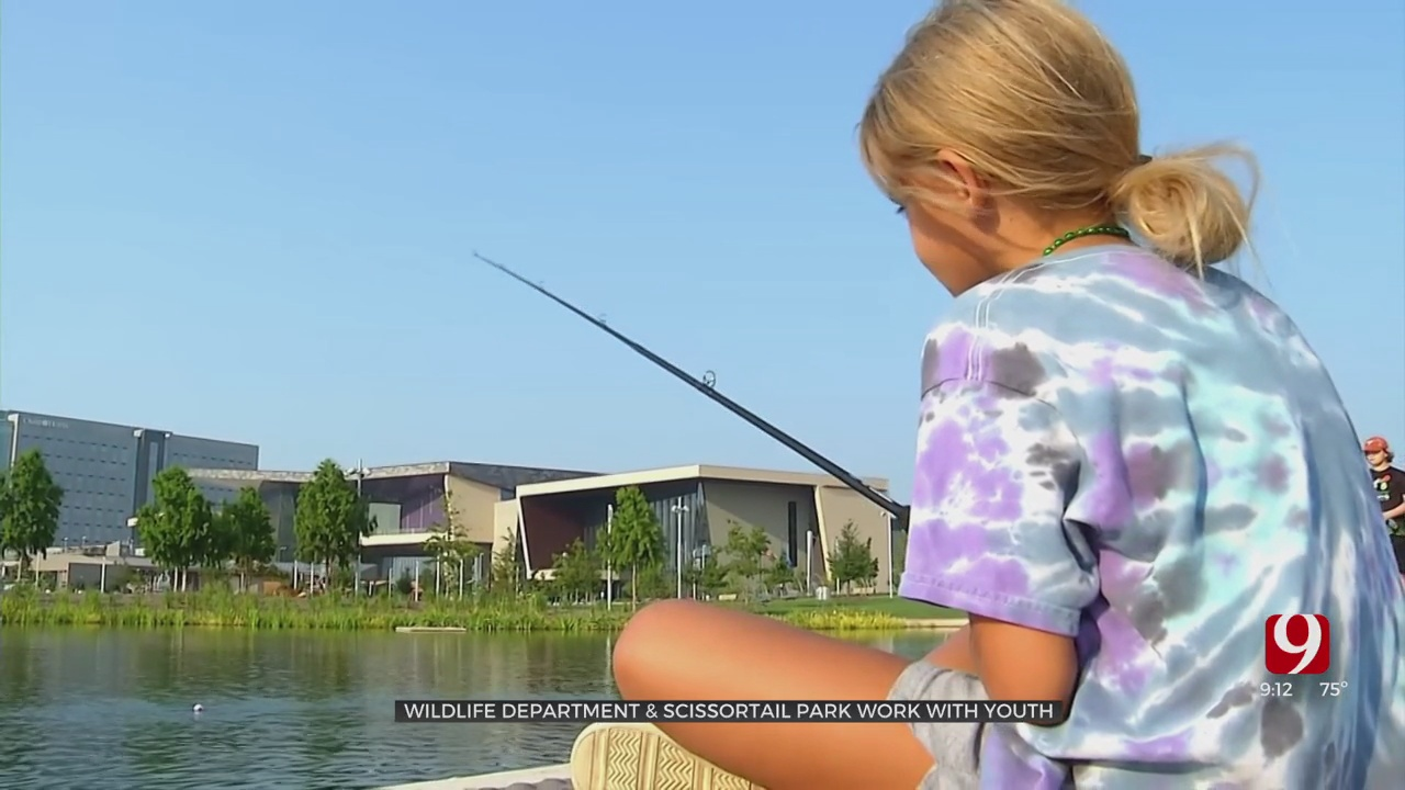 Outdoor Life With Lacie Lowery: Fishing In OKC