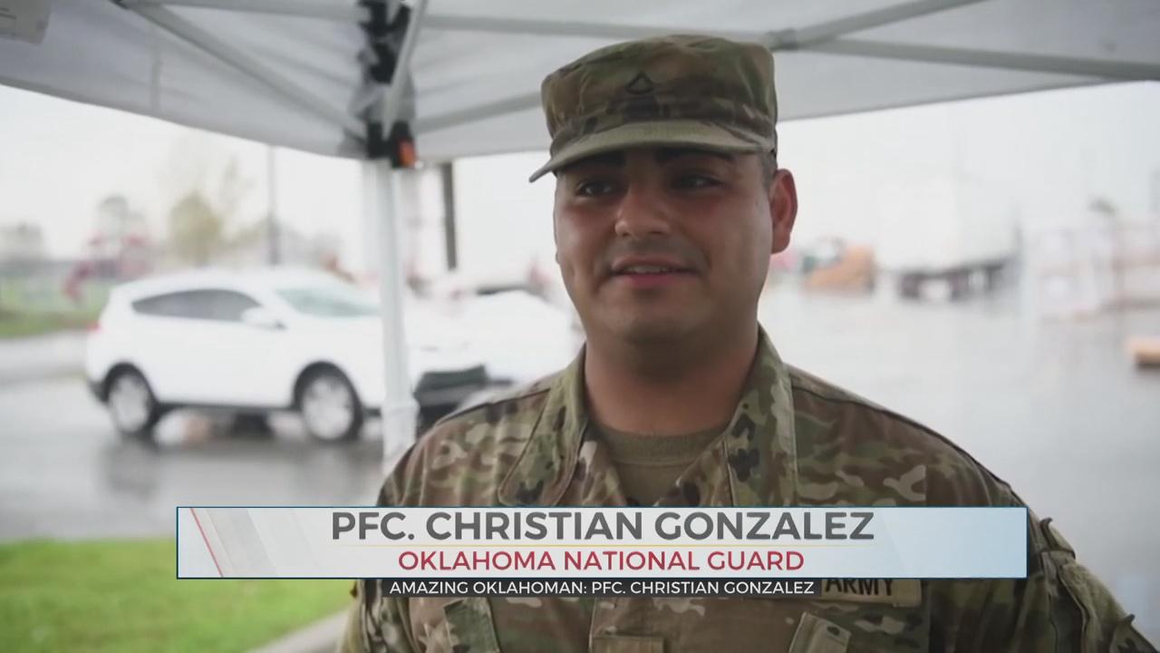 Amazing Oklahoman: PFC. Christian Gonzalez