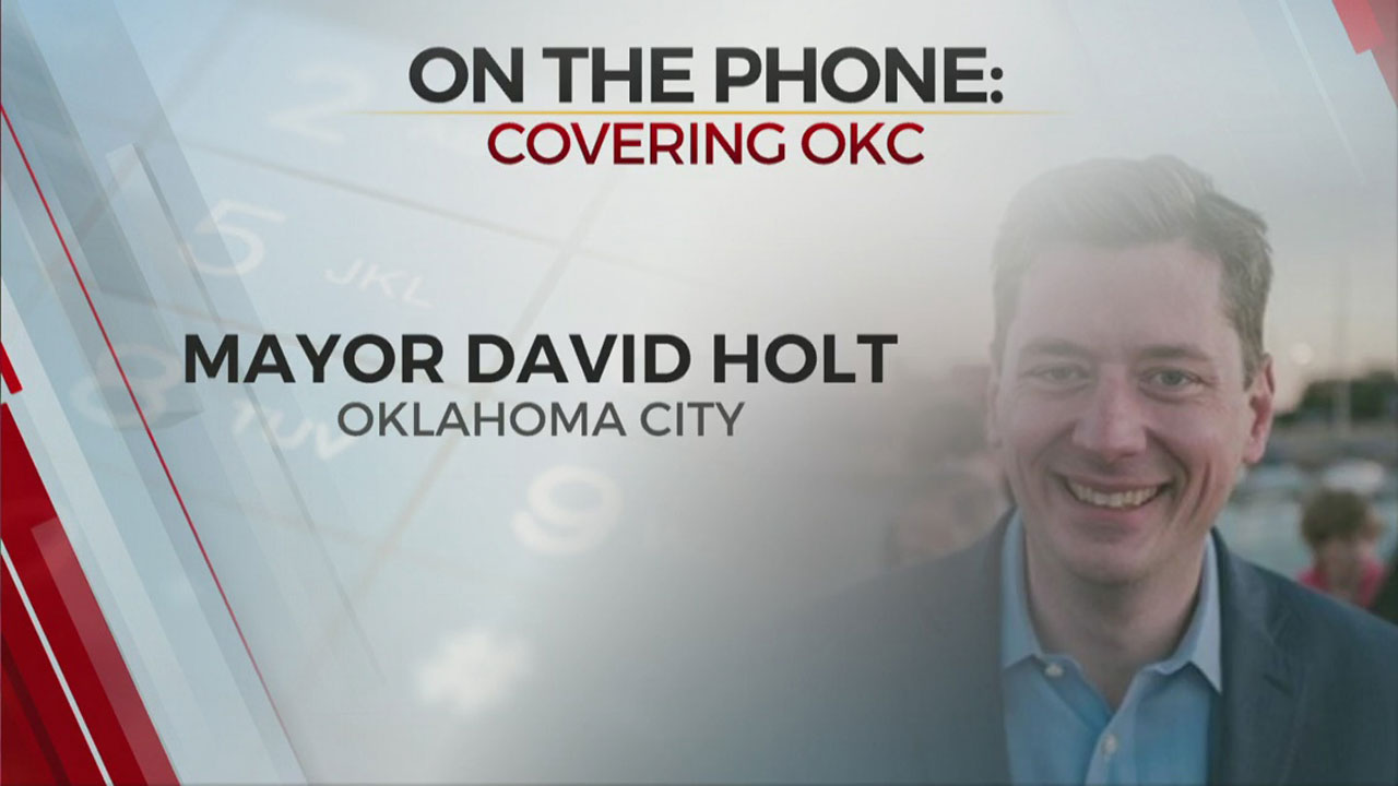 Watch: OKC Mayor Holt On Debris Clean Up, Rising COVID-19 Cases