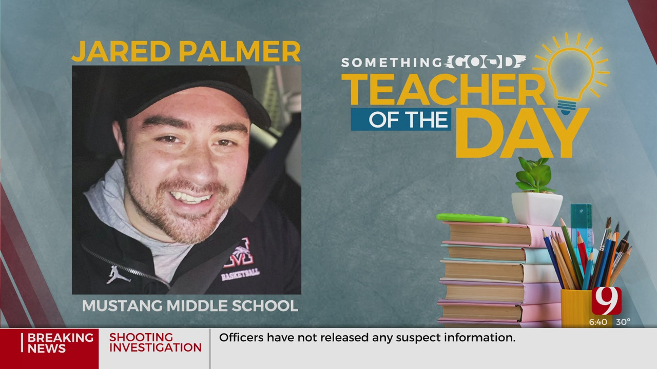 Teacher Of The Day: Jared Palmer