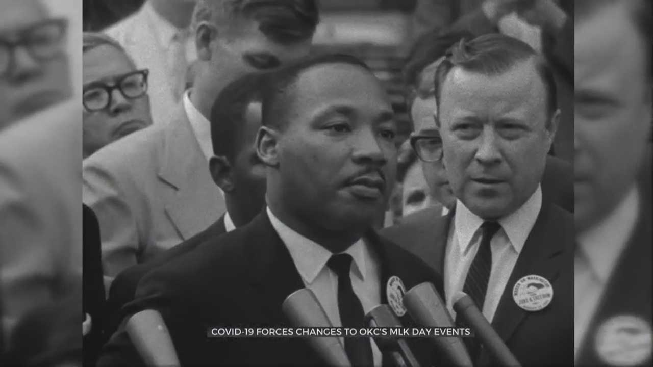 COVID-19 Forces Martin Luther King Jr. Celebrations To Go Virtual