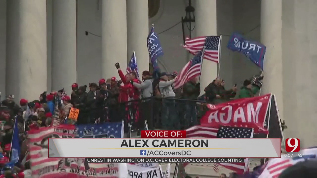 Protesters Storm US Capitol Amid Count Of Electoral College Votes