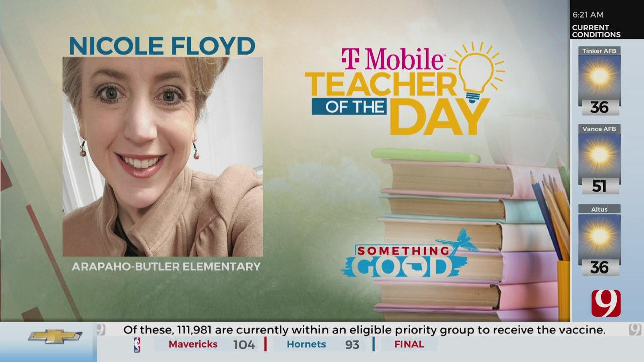 Teacher Of The Day: Nicole Floyd