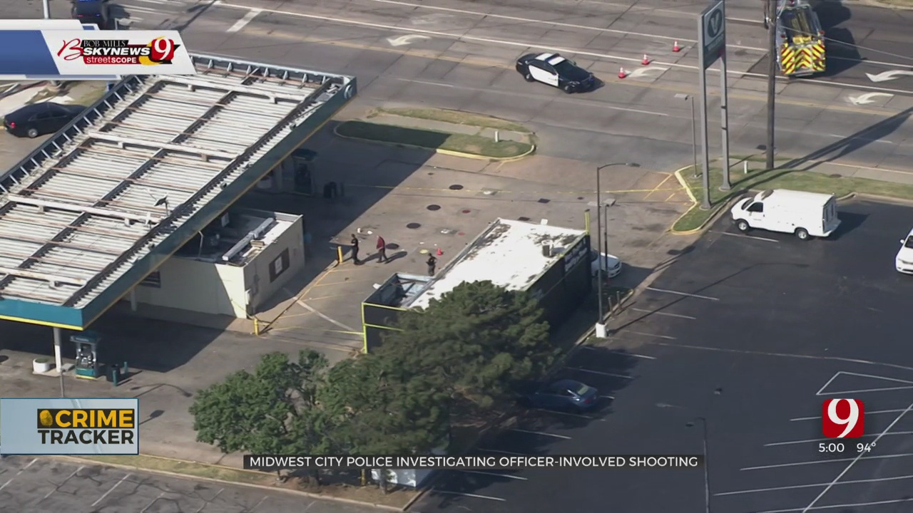 MWC Police Shoot Man Who Reportedly Shot Rifle, Pistol In The Air Near Gas Station