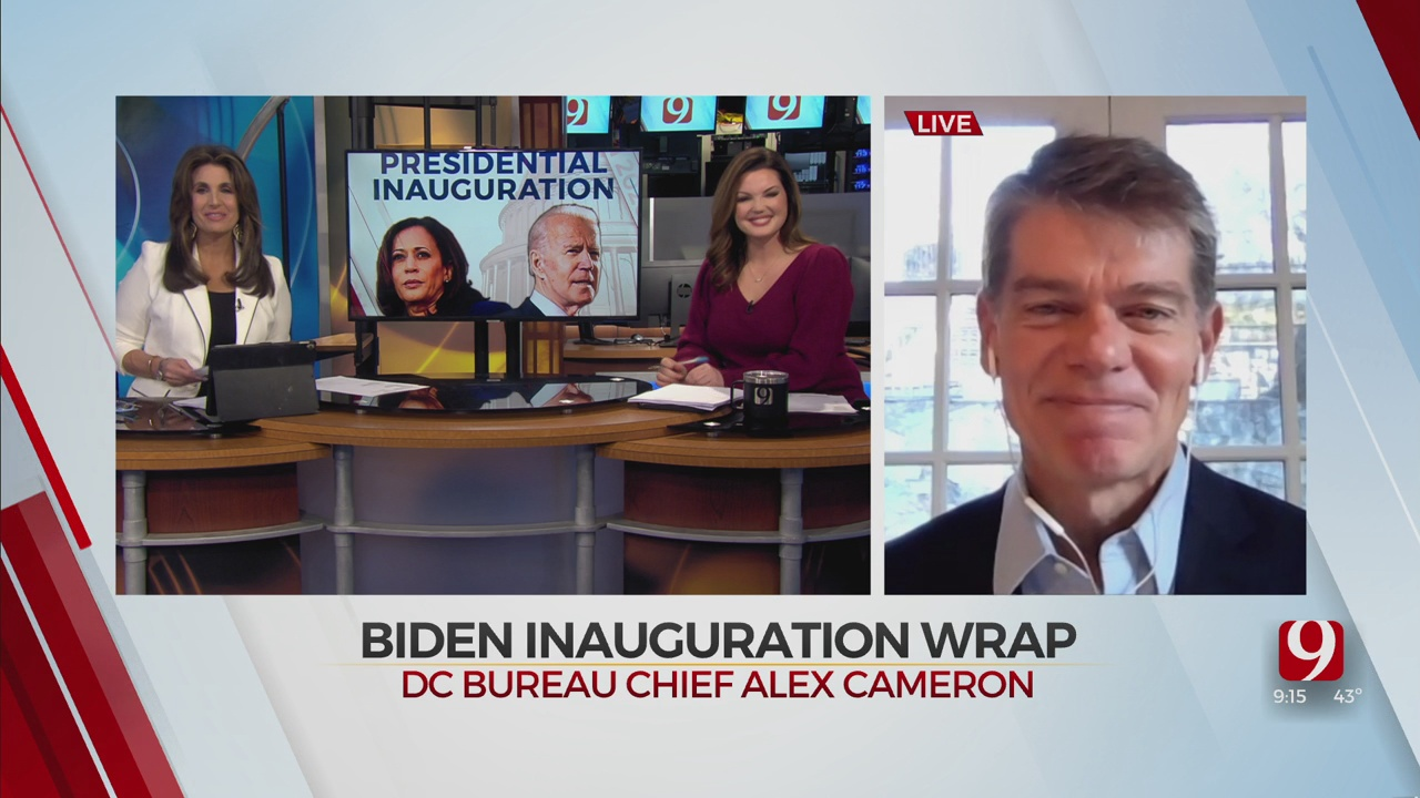 WATCH: Alex Cameron On Watching Inauguration First-Hand