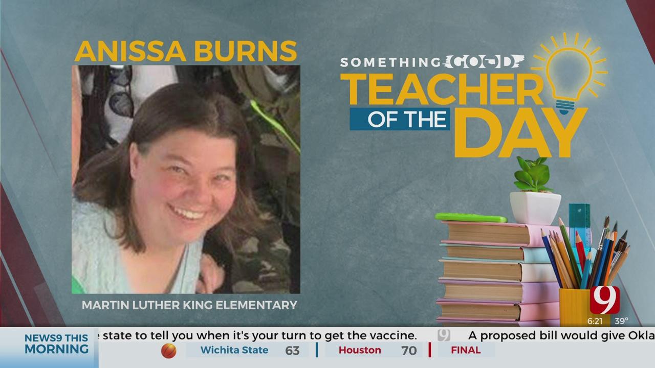 Teacher Of The Day: Anissa Burns