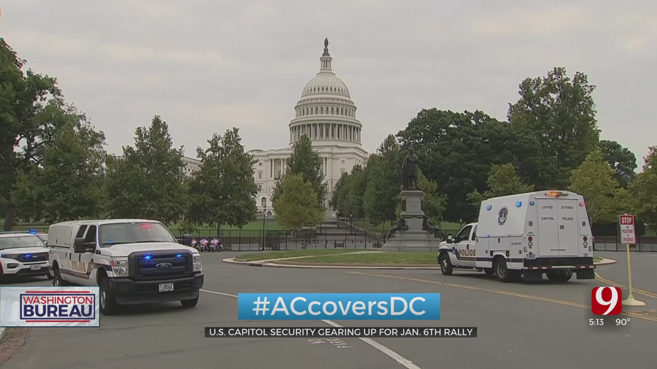 Capitol Police Make Preparations Ahead Of Weekend Rally For Jailed Rioters