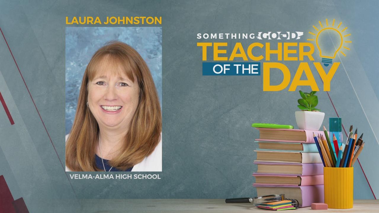 Teacher Of The Day: Laura Johnston
