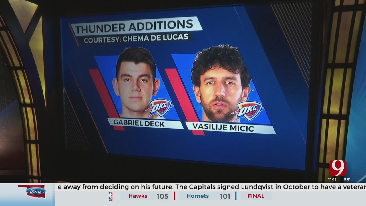 Change Of Plans For The Thunder?