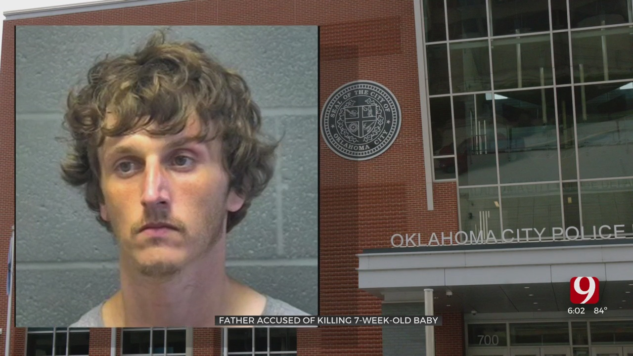 OKC Father Accused Of Killing His 7-Week-Old Baby
