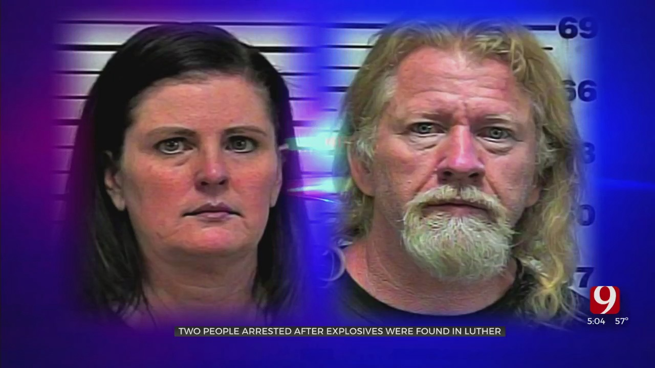 Two People Arrested After Live Explosive Found In Luther Home