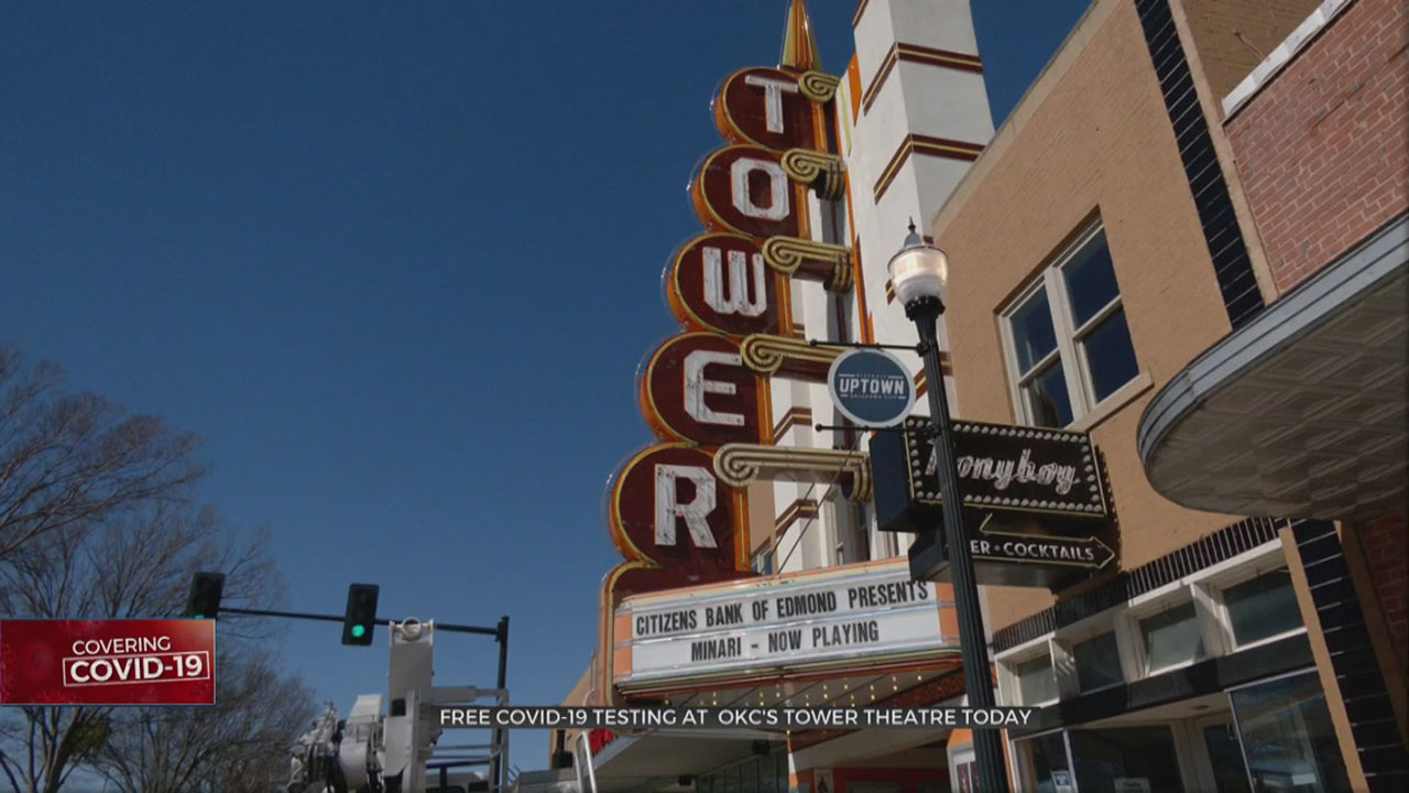 Tower Theatre To Become Free COVID-19 Testing Site