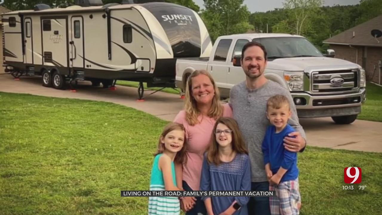 Living On The Road: Oklahoma Family's Permanent Vacation