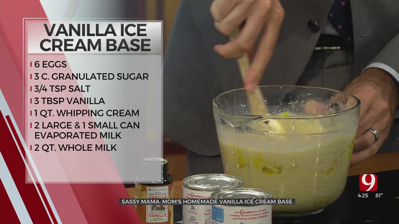 Sassy Mama: Vanilla Ice Cream Base