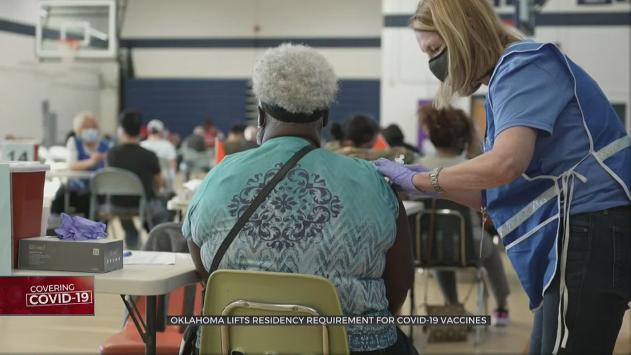 Oklahoma To Open COVID-19 Vaccine Registrations To Residents From Other States