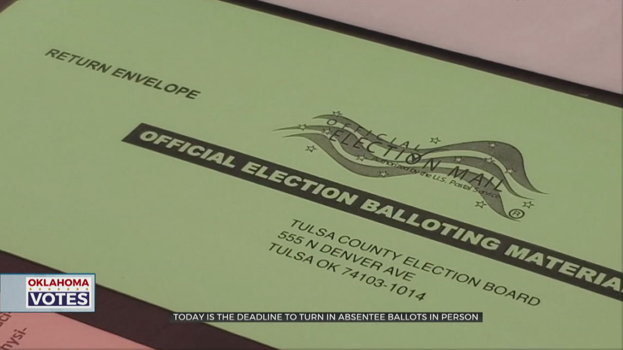 Deadline Arrives To Turn In Absentee Ballots In Person
