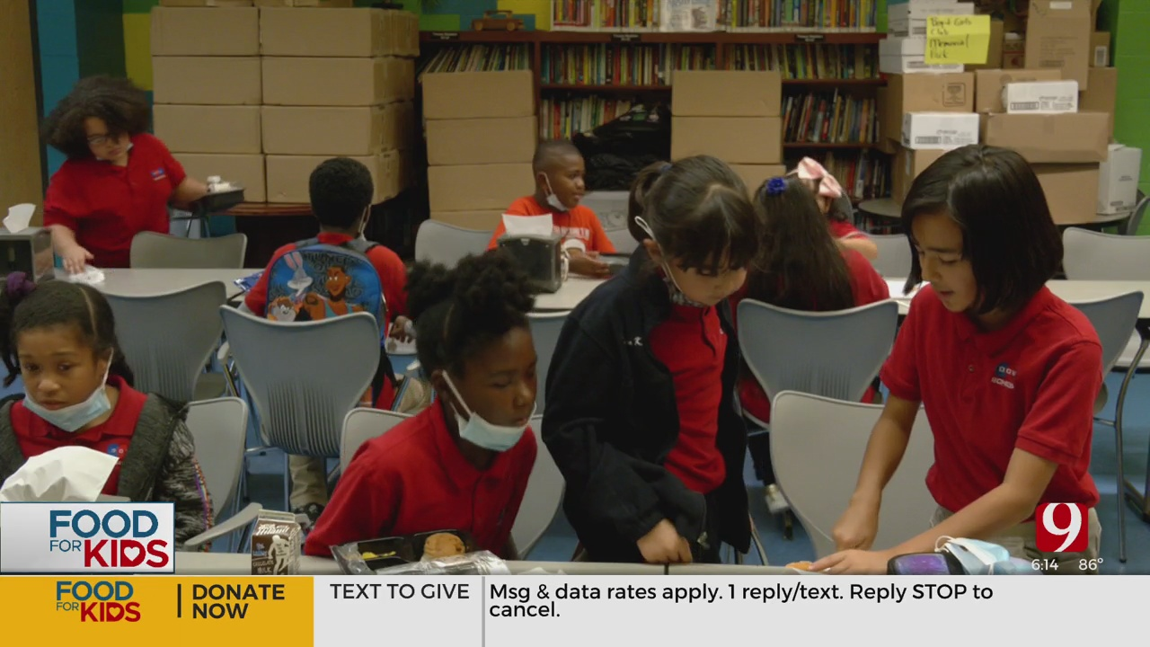 Boys And Girls Club Of OKC, Regional Food Bank Working To Ensure Kids Don't Go Hungry