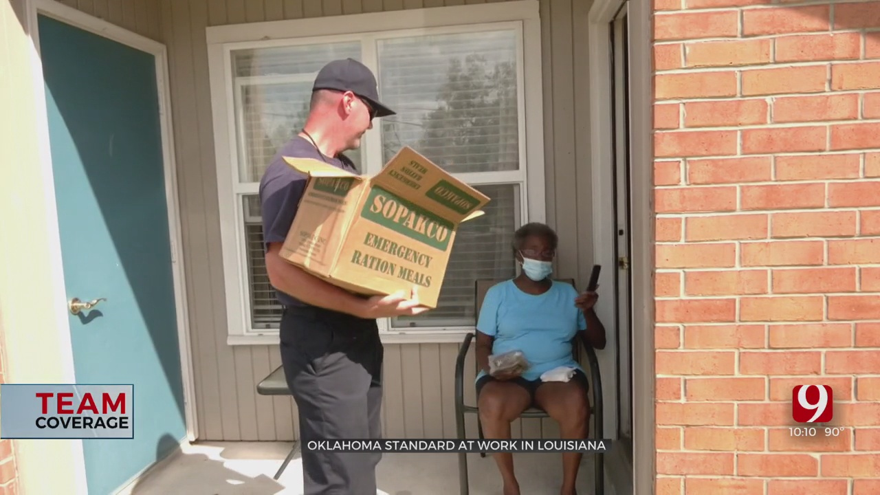 Oklahoma Standard At Work In Louisiana For Hurricane Relief Efforts