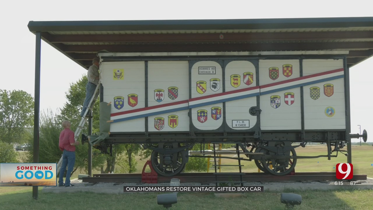 Volunteers Work To Restore Boxcar Given To The US By France