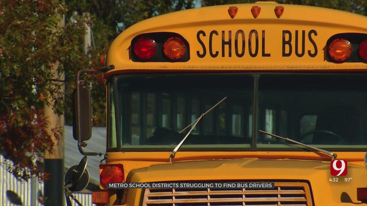 OKC Metro School Districts See Bus Driver Shortage