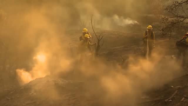 Lightning Sparks New Wildfires Across California