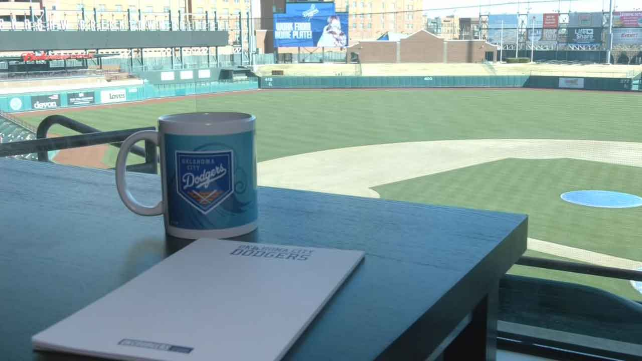 OKC Dodgers Make Pitch To Be Your New Home Office