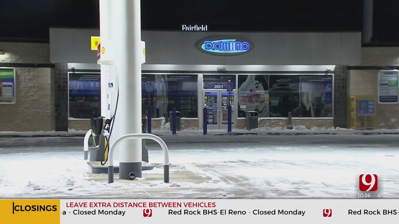 Winter Storm Forces El Reno Businesses To Close