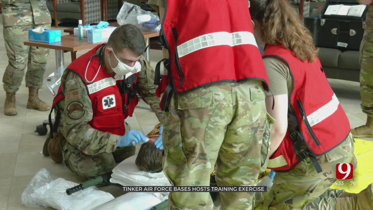 Tinker Air Force Base Trains Medics In Mass Casualty Exercise