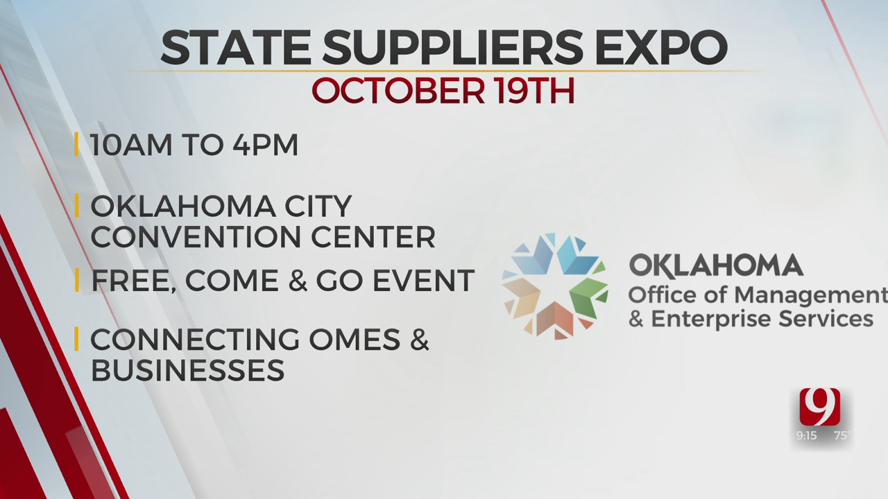State Suppliers Expo Coming To OKC In October