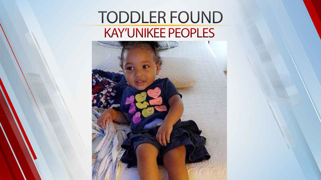 Missing OKC Toddler Found Safe, Police Say