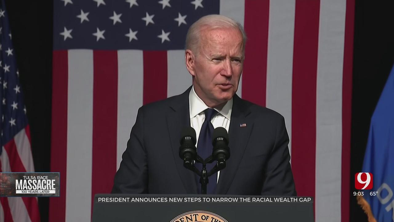 President Biden Promises To Focus On Narrowing The Racial Wealth Gap