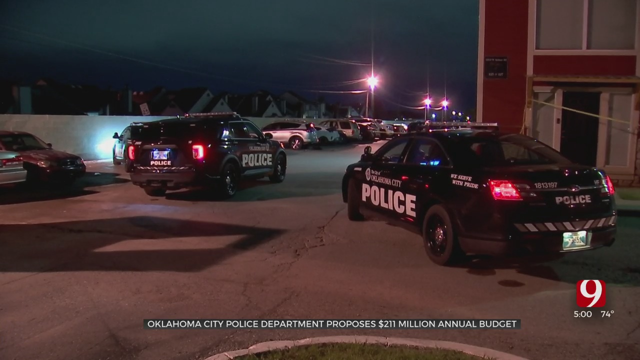 Oklahoma City Police Department Proposes $211 Million Annual Budget