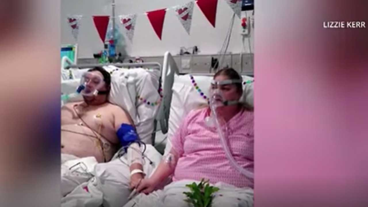 Hospital Staff Helps Couple Get Married In The COVID Ward