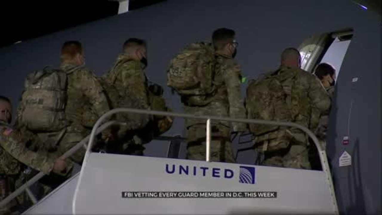 FBI Vetting National Guardsman Ahead Of Presidential Inauguration