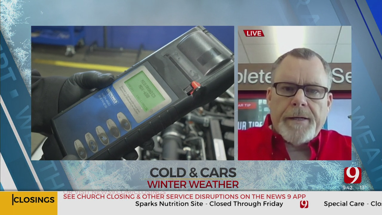 WATCH: Driving In Winter Weather