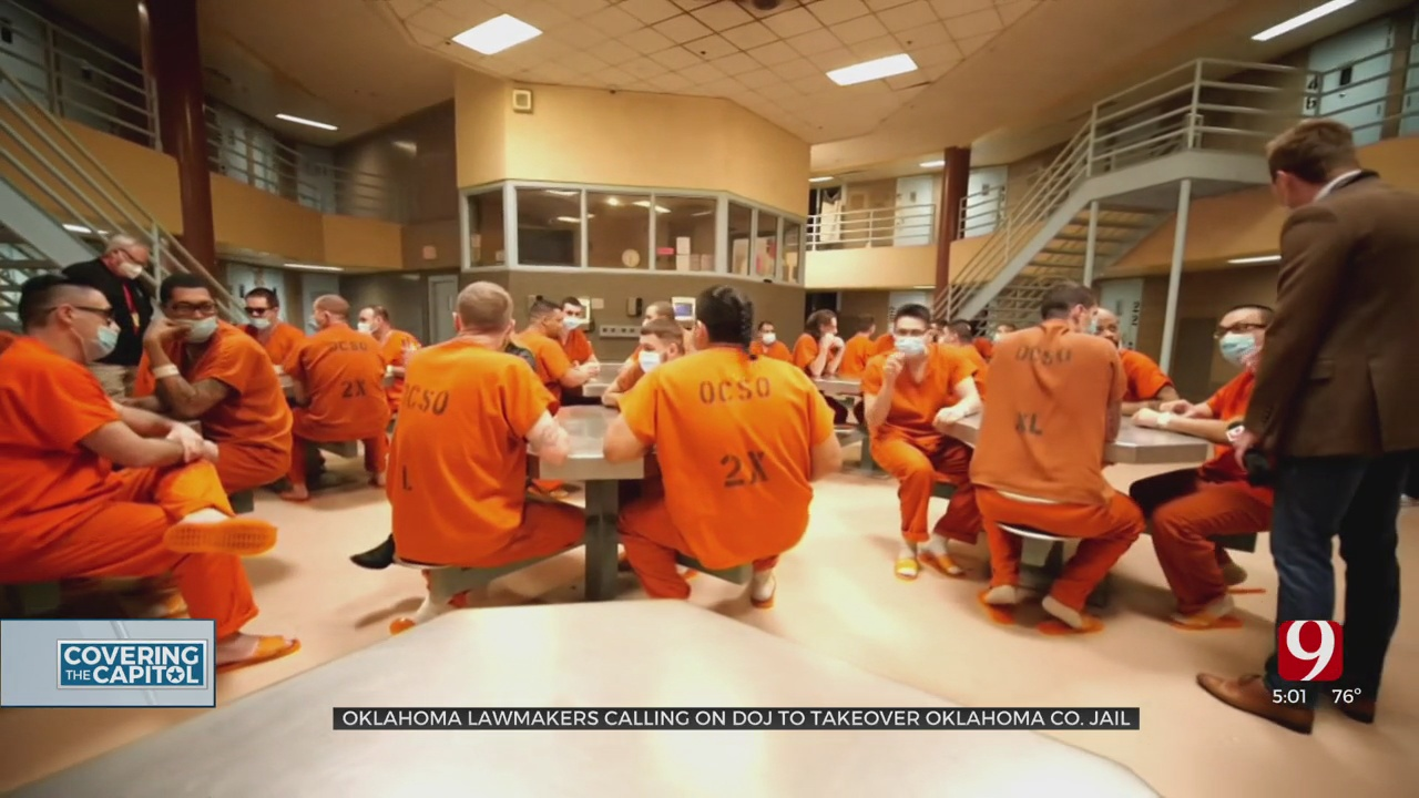 State Lawmakers Call On Department Of Justice To Take Over Oklahoma County Jail