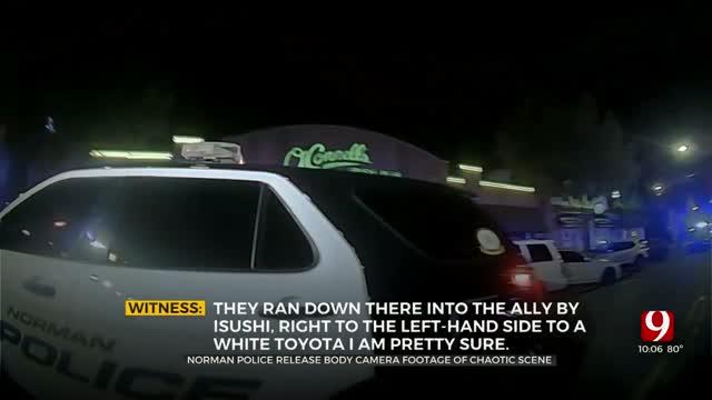 Norman Police Release Body Camera Footage Of Campus Corner Shooting