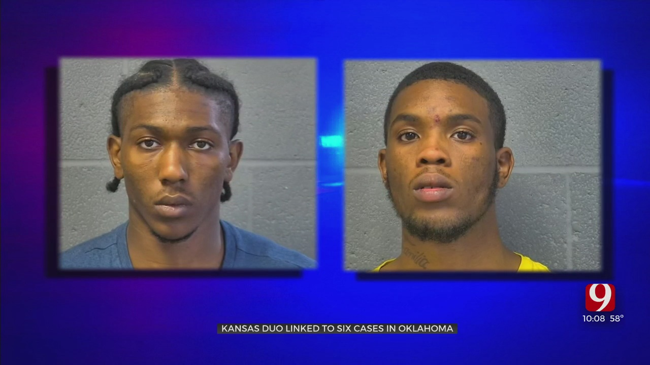 2 Kansas Men Arrested After String Of Robberies, Thefts From Oklahoma Dispensaries