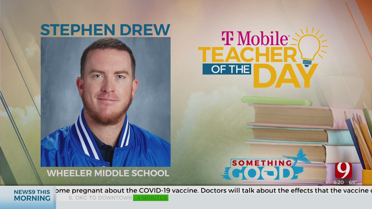 Teacher Of The Day: Stephen Drew