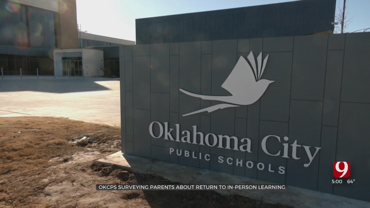 OKCPS Surveying Parents About Return To Full-Time, In-Person Learning