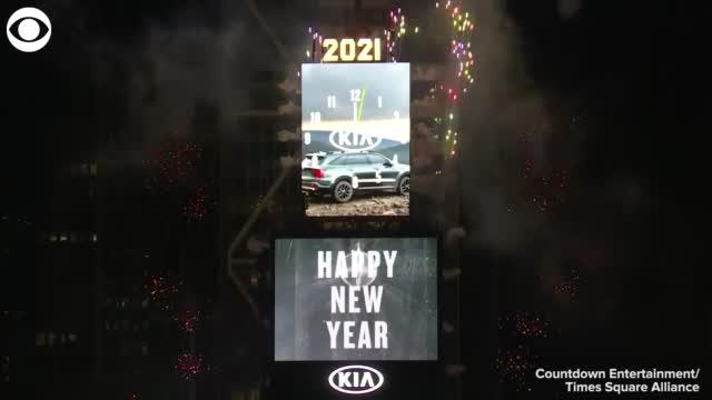New Year's Eve Around The US