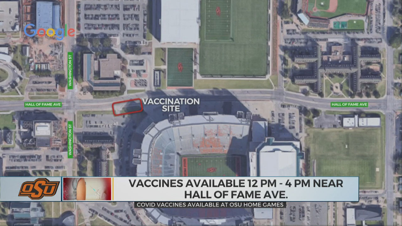 OSU To Provide Vaccinations At Boone Pickens Stadium