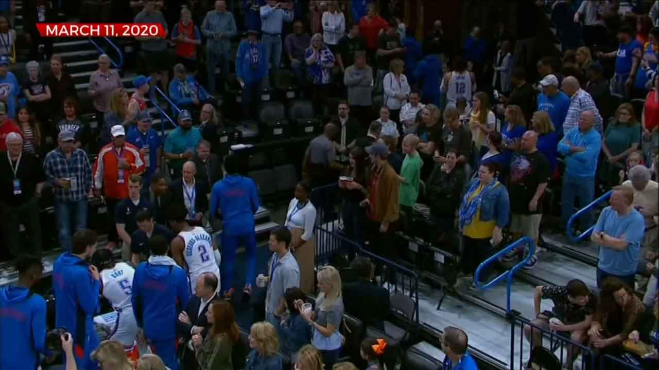 Economic Impact Of No Fans At Thunder Games