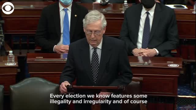 Sen. McConnell: 'If We Overrule Them, It Would Damage Our Republic Forever'