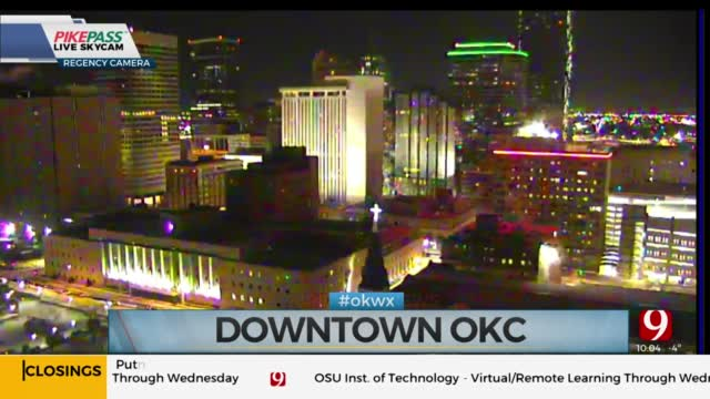 Downtown OKC Could Go Dark Tuesday In Effort To Conserve Energy, Mayor Holt Says