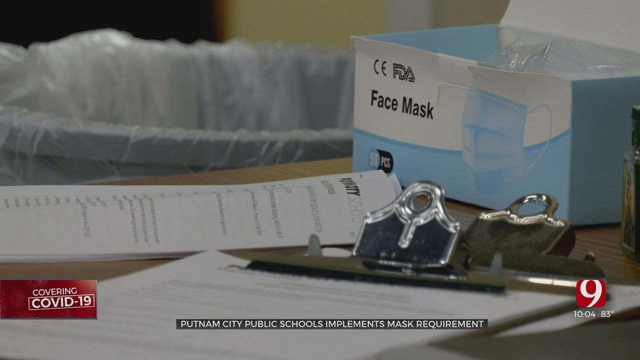Putnam City Board Passes Mask Requirement For Students Effective Wednesday